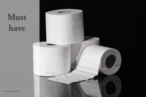 cheap prepping toilet paper