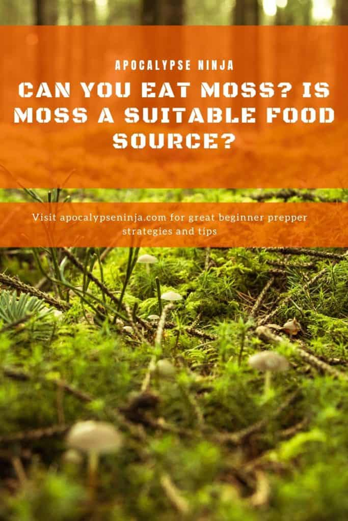 can you eat moss