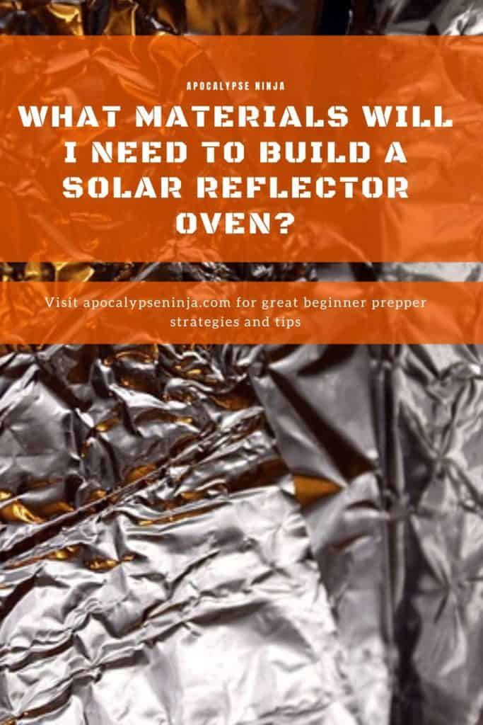 materials for reflector oven