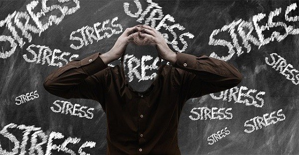 stress rises blood sugar